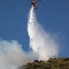 Siller Sikorsky CH-54 drops off Lake Hughes Road. Lake Fire. 08-12-2020