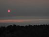 2011-07-07 (Thursday): sunrise through low-lying smoke