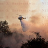Rye Fire LACoFD Copter 12 drops next to Valencia Travel Village 12-05-2017