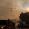 Rye Fire Super Scooper makes a drop over E329 at Valencia Travel Village 12-05-2017
