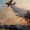 Rye Fire LACoFD Super Scooper Drops in Valencia Travel Village 12-05-2017