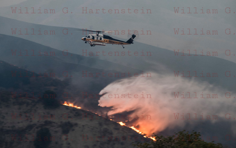 Rye Fire Copter 19 drops off hwy 126 12-05-2017