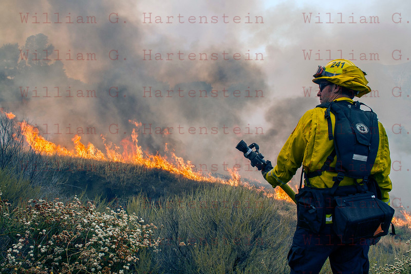 Sand IC Day 3 Cal Fire 241's on Placerita Cyn 07-24-2016