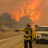 Sand IC Day 3 Cal Fire Capt 241's on Placerita Cyn 07-24-2016