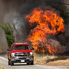 Sand IC Day 3 Orange City Fire on Placerita Cyn 07-24-2016