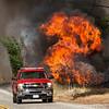 Sand IC Day 3 Orange City Fire on Placerita Cyn 07-24-2016