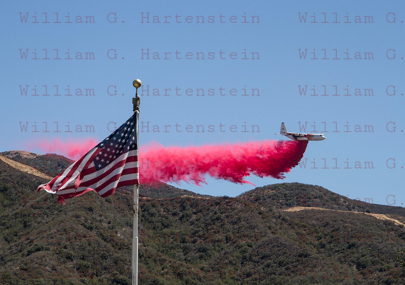Sand IC Day 4 C-130 in Placerita Cyn 07-25-2016