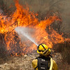 Sand IC Day 4 Cal Fire on Placerita Cyn