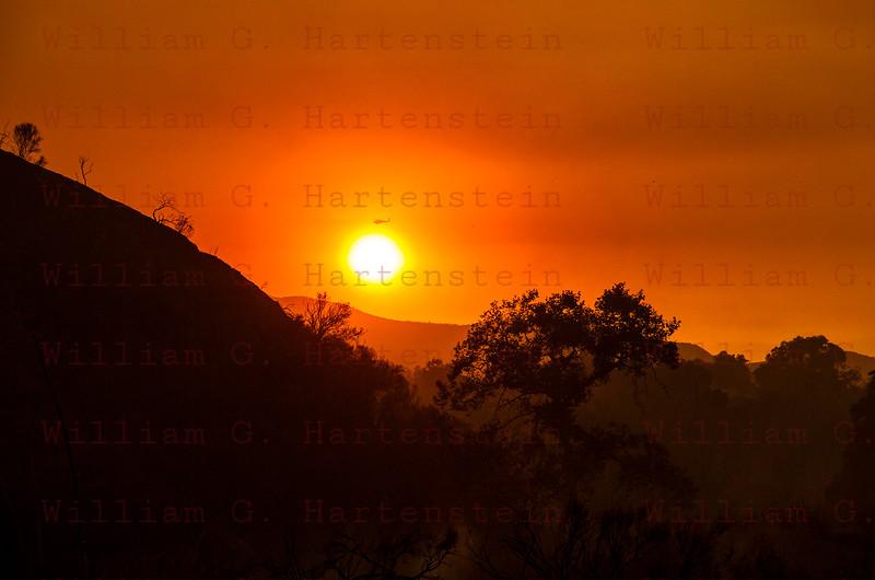 Sand IC Day 2 Firehawk transit Sun, Little Tujunga 07-23-2016