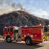 Sand IC Day 1 LACoFD E111 on Soledad Cyn Rd 07-22-2016