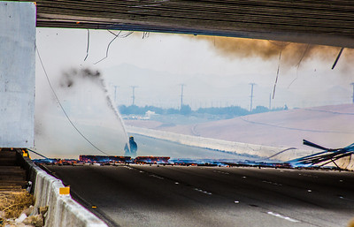 (By Brandon Barsugli) Ranchero Bridge Fire