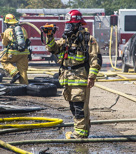 Commercial Structure Fire, Fontana - 06/13/16