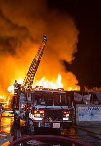 Fontana Pallet Fire, 1.13.16