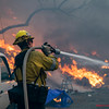 Tick Fire LACoFD Canyon Country, Oct. 24, 2019