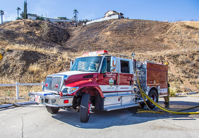 FG - Kendall Fire, Little Mountain in San Bernardino, 07-02-16