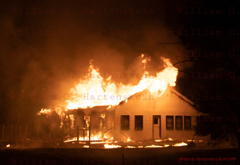 Woolsey Fire House (Horse Fire)on Mulholland Hwy Calabasas, CA. 11-09-2018