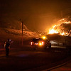 Woolsey Fire 29900 Blk of Rolling Ridge Dr. Agoura Hills, CA. 11-08-2018