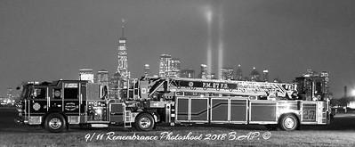 Palmer Municipal Fire Department Tiller 27
