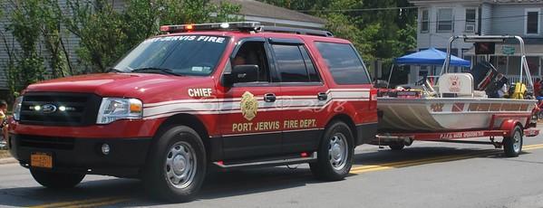 Port Jervis, NY Firefighter's Parade