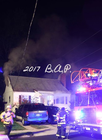September 25, 2017 Bergenfield House Fire - Woods Ave