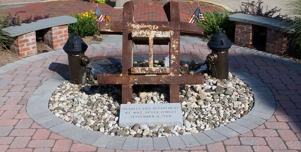9/11 Memorial at Oradell FD  Oradell N.J.