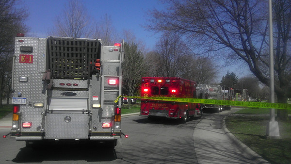 Dearborn Fire -South Morrow Circle - 4-22-13