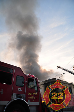 Detroit 2nd Alarm -East Ferry Avenue and Chene Street