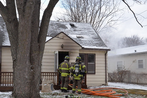 Dearborn Heights - Currier street - House Fire -1-17-16