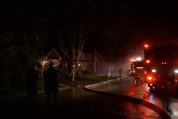 Dearborn - House Fire - North York street.