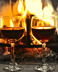 Wine Down by the Fireside