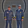 Captain Ed Weitzman and Chief Matt Zemski