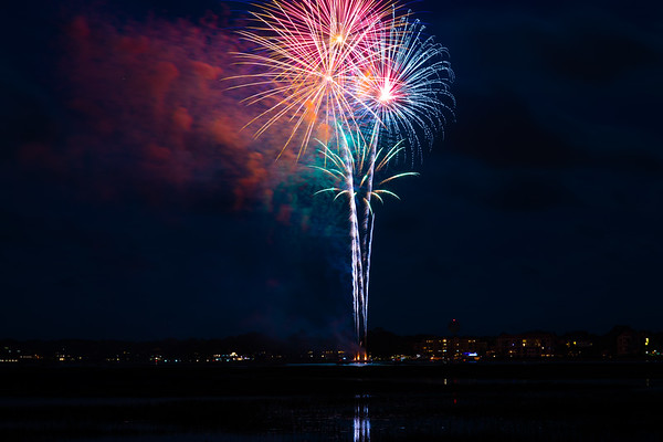 Fireworks At Shelter Cove