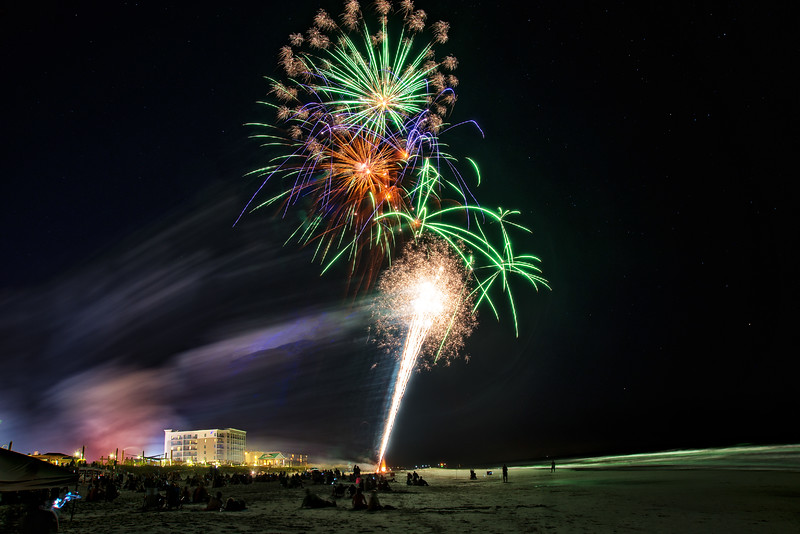 August 25, 2016 at 8:06 PM - Summer Fireworks By The Sea and Boardwalk Gazebo Music