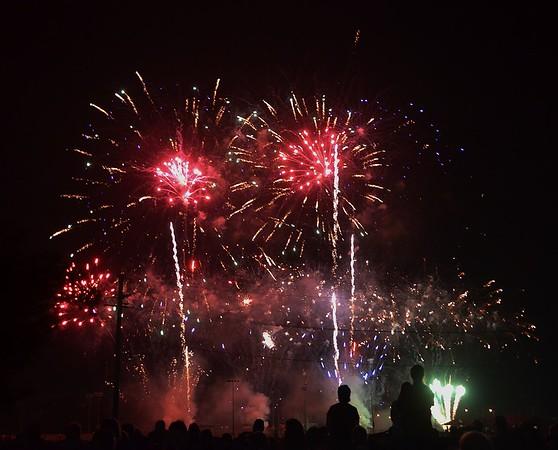 Fireworks July 4, 2015  -  Wamego Ks