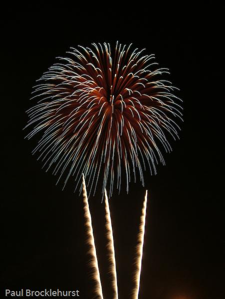 Alexandra Palace Fireworks 2006
