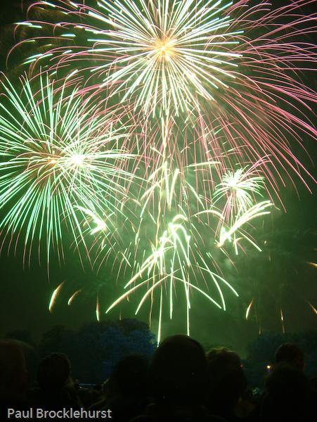 Victoria Park Fireworks 2006