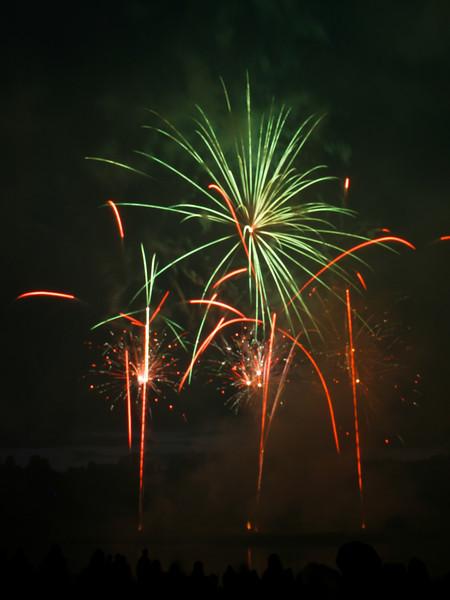 Belvoir Fireworks, 19th July 2008