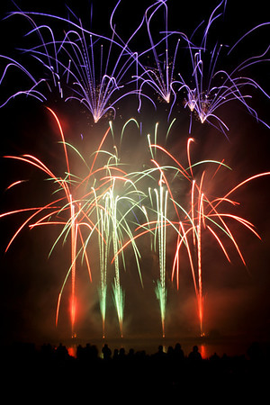 Belvoir Fireworks, 19th July 2008
