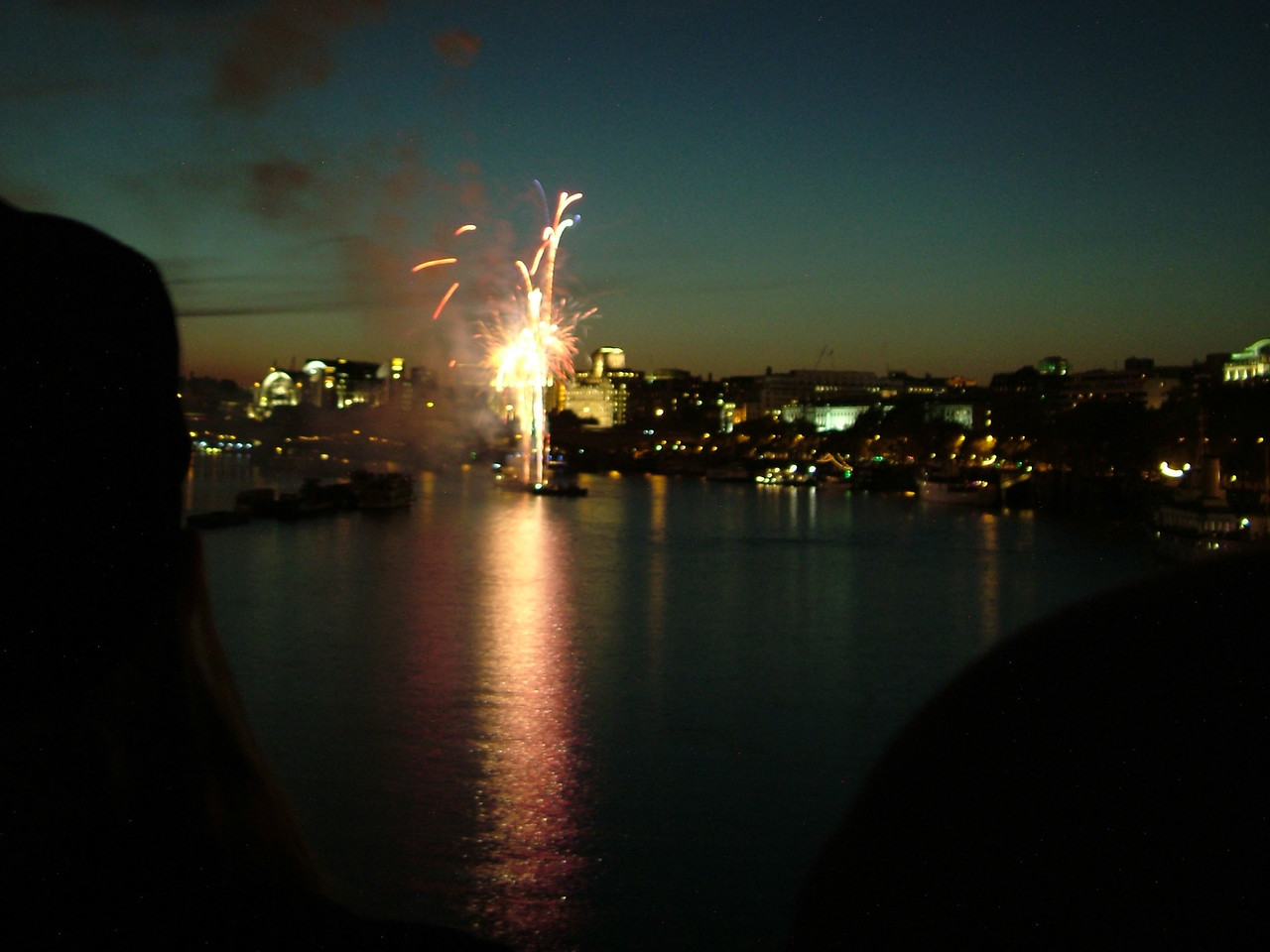 Lord Mayor's Show Fireworks, London