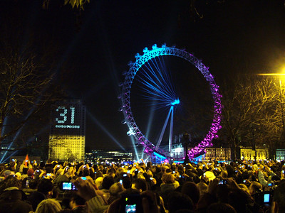 New Year's Eve Countdown, London
