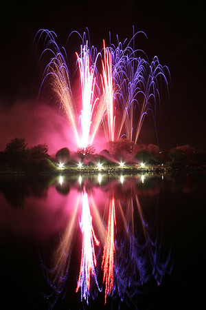 G-Force fireworks at the British Musical Fireworks Championships, Southport, 2007