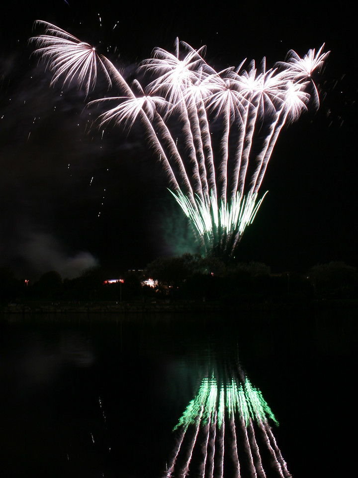 Pyromania's display at the British Musical Fireworks Championships, Southport, 2007
