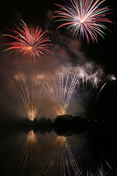 Phoenix Fireworks at the British Musical Fireworks Championships, Southport, 2007