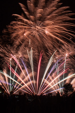 Fuse Fireworks at Southport 2013