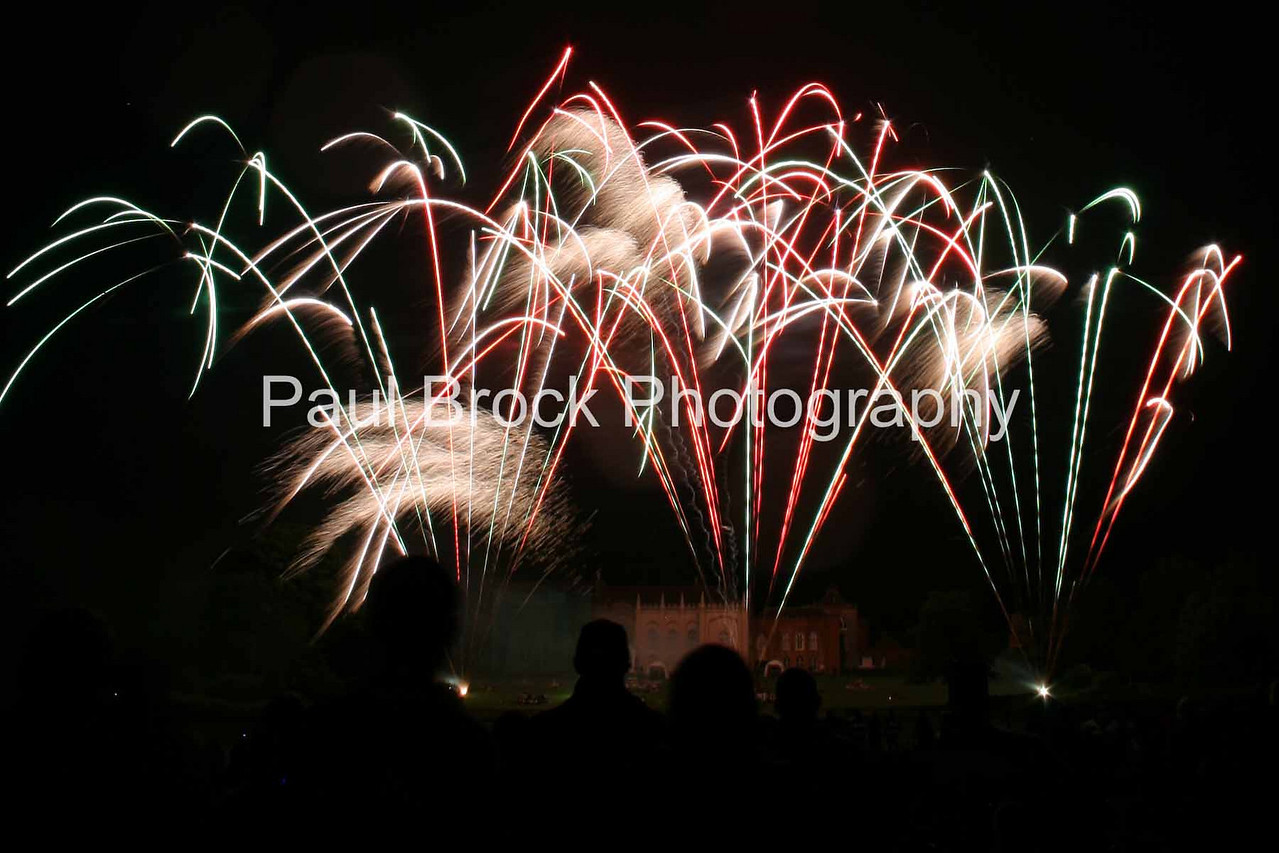 Spitfire Pyrotechnics at Combermere