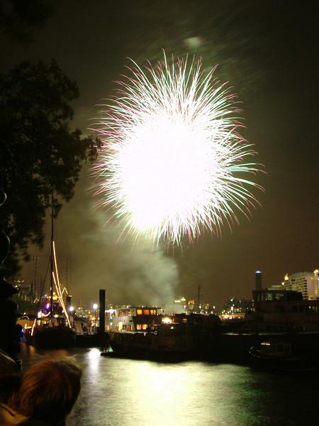 Thames Festival Fireworks 2006