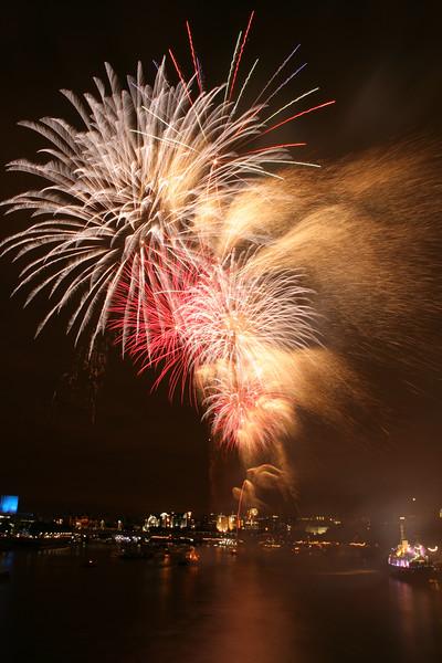 Thames Festival fireworks, London
