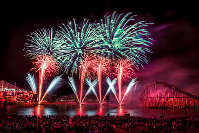 Fireworks at La Ronde - July 26, 2017