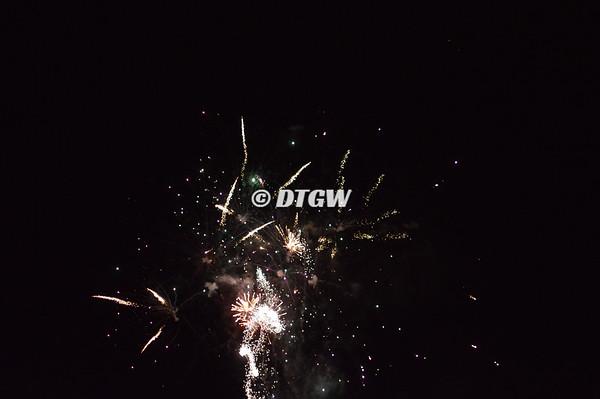 Fireworks at Toccoa Raceway