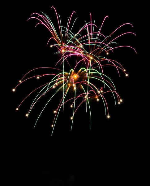 2008 Canada Day fireworks, Dryden Ontario